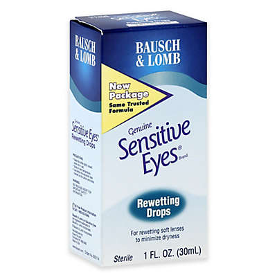 Bausch + Lomb Sensitive Eyes 1 oz. Rewetting Drops