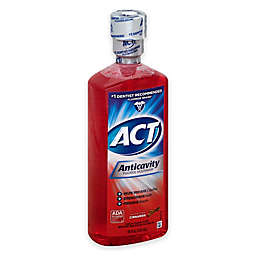 ACT® 18 oz. Anticavity Fluoride Alcohol-Free Mouthwash in Cinnamon
