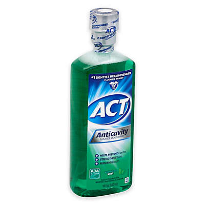 ACT 18 oz. Anticavity Fluoride Rinse in Mint