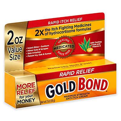 Gold Bond® 2 oz. Rapid Relief Anti-Itch Cream