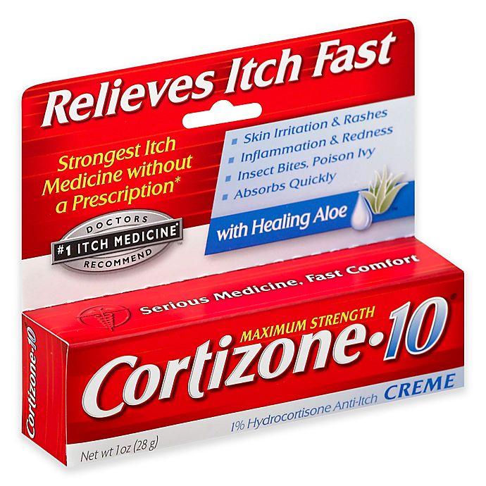 Alternate image 1 for Cortizone-10® 1oz. Maximum Strength Creme