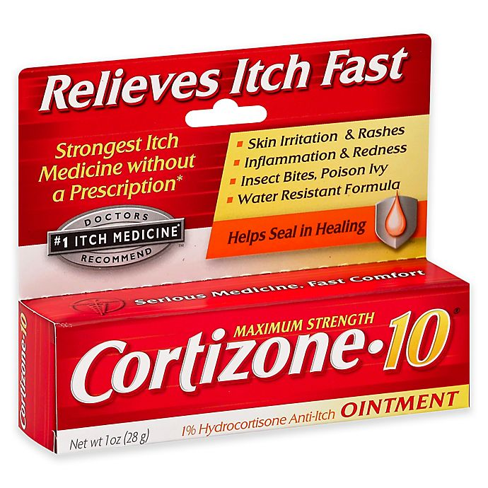 Alternate image 1 for Cortizone-10® 1oz. Maximum Strength Ointment