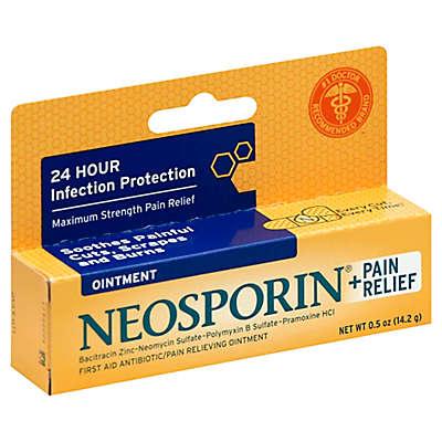 Neosporin® .5 oz. Plus Maximum Strength Pain Relief Ointment