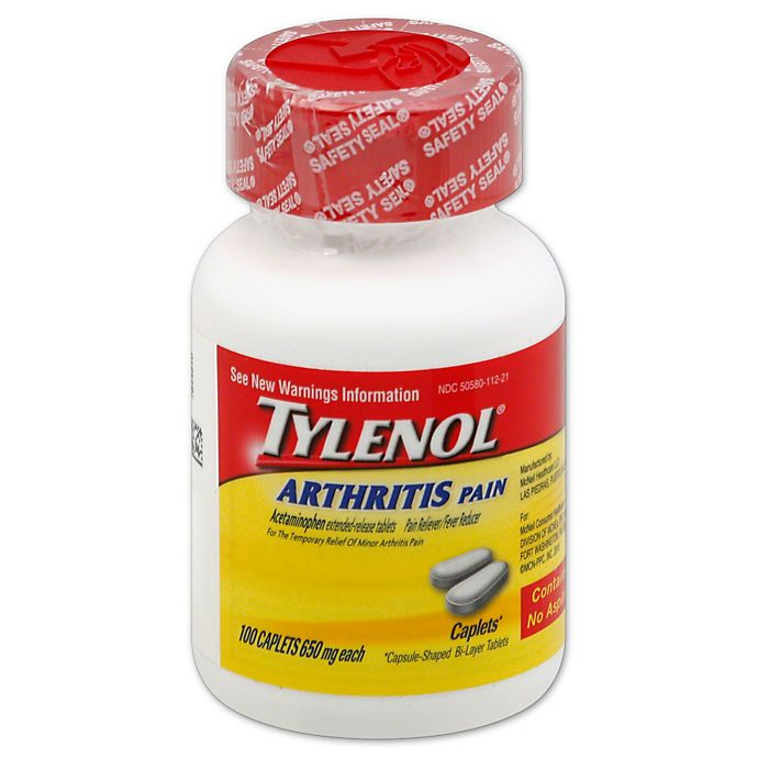 Alternate image 1 for Tylenol® Arthritis 100-Count Pain Caplets