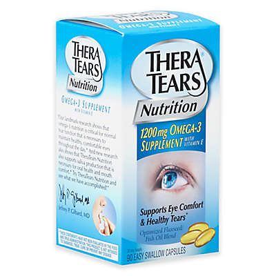 Thera Tears 90-Count Nutrition Omega 3 Capsules with Vitamin E