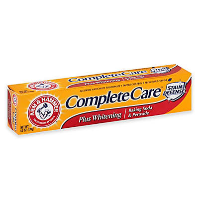 Arm & Hammer 6 oz. Complete Care Plus Whitening Toothpaste in Fresh Mint