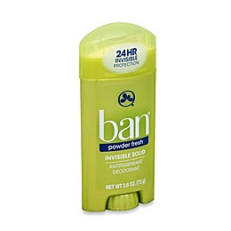 Ban® 2.6 oz. Invisible Solid Antiperspirant and Deodorant in Powder Fresh