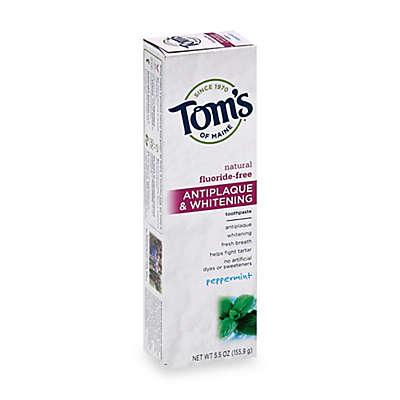 Tom's of Maine 5.5 oz. Antiplaque & Whitening Toothpaste in Peppermint
