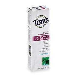 Tom's of Maine 5.5 oz. Antiplaque & Whitening Toothpaste in Peppermint