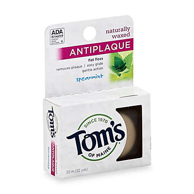 Tom's of Maine 32 Yards Antiplaque Flat Floss in Spearmint