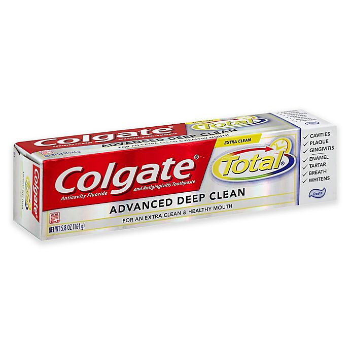 2a74f70a8639 Colgate Total® 5.8 oz. Advanced Deep Clean Toothpaste | Bed Bath ...