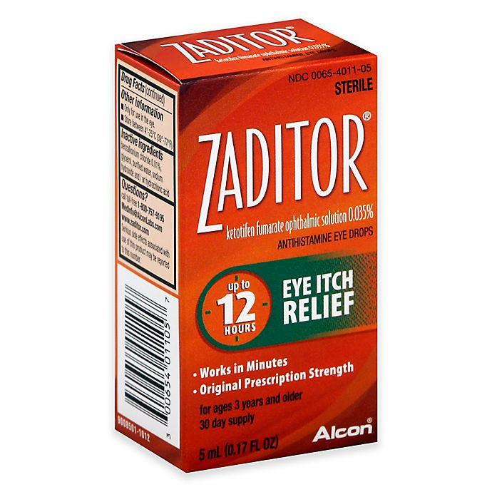 Alternate image 1 for Zaditor® 0.17  fl. oz.  Eye Drops