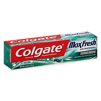 Colgate® 6 oz. Max Fresh Toothpaste with Mini Breath Strips in Clean Mint