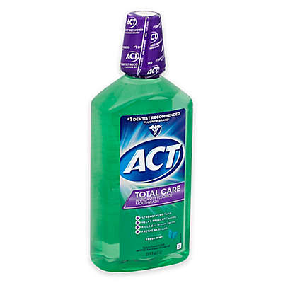 Act® Total Care 18 oz Anticavity Fluoride Mouthwash in Fresh Mint
