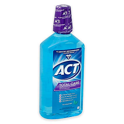 ACT® Total Care 33.8 oz. Anticavity Fluoride Mouthwash in Icy Clean Mint