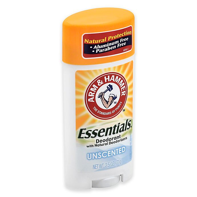 Alternate image 1 for Arm and Hammer™ Essentials™ 2.5 oz. Solid Deodorant in Unscented