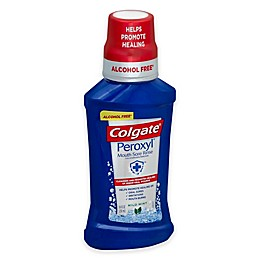 Colgate® 8 oz. Peroxyl Oral Cleanser and Mouth Sore Rinse in Mild Mint