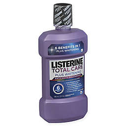 Listerine® 33.8 oz. Total Care Plus Whitening Anticavity Mouthwash in Fresh Mint