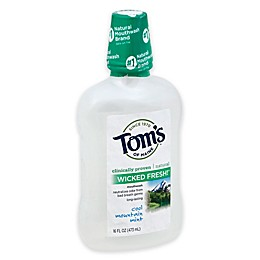 Tom's of Maine 16 oz. Wicked Fresh Mouthwash in Cool Mountain Mint