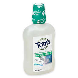 Tom's of Maine 16 oz. Wicked Fresh Mouthwash in Peppermint Wave