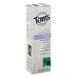 Tom's of Maine 4 oz. Whole Care Toothpaste in Peppermint