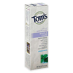 Tom's of Maine 4.7 oz. Whole Care Toothpaste in Peppermint