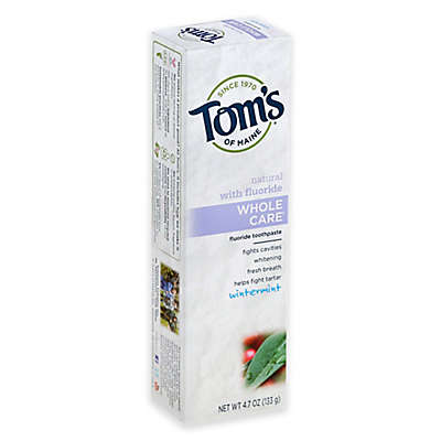 Tom's of Maine 4.7 oz. Whole Care Toothpaste in Wintermint