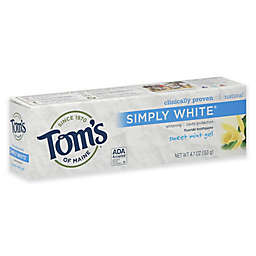 Tom's of Maine 4.7 oz. Simply White Fluoride Toothpaste in Sweet Mint Gel