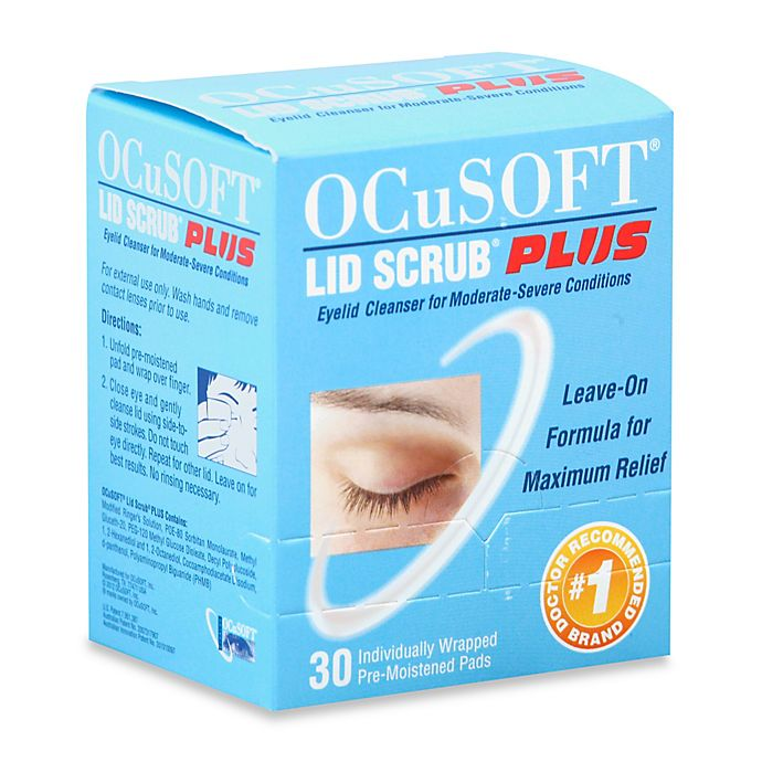 Alternate image 1 for OCuSOFT® Lid Scrub Plus 30-Count Original Pre-Moistened Pads