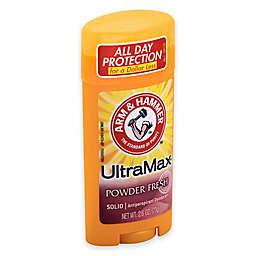 Arm and Hammer™ Ultramax™ 2.6 oz. Solid AntiPerspirant Deodorant in Powder Fresh