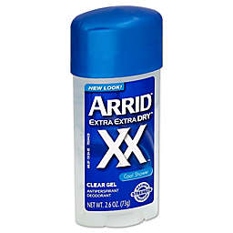 Arrid Extra Extra Dry™ 2.6 oz. Anti-Perspirant and Deodorant Clear Gel in Cool Shower