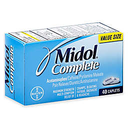 Midol® Complete 40-Count Pain Reliever Diuretic Antihistamine Caplets in Maximum Strength