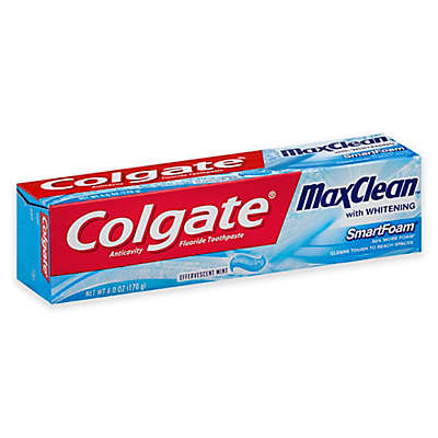 Colgate® 6 oz. MaxClean SmartFoam Whitening Toothpaste in Effervescent Mint