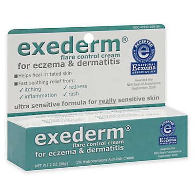 Exederm 2 oz. Flare Control Cream for Eczema & Dermatitis