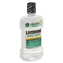 Listerine® Naturals™ 33.8 oz. Antiseptic Mouthwash in Herbal Mint