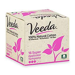 Veeda™ 16-Count Super Applicator Tampons