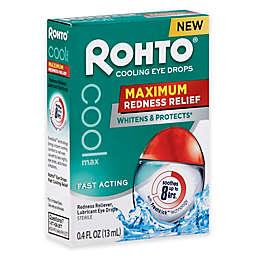 Rohto® .4 oz. Cool Maximum Redness Relief Eye Drops