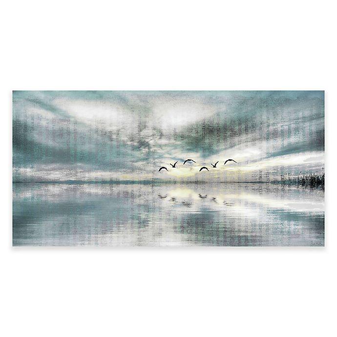 Alternate image 1 for Parvez Taj Birds Skylight 45-Inch x 22.5-Inch Canvas Wall Art