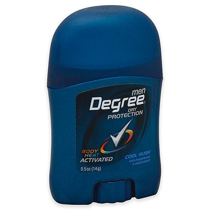 Alternate image 1 for Degree® .5 oz. Men's Antiperspirant and Deodorant in Cool Rush