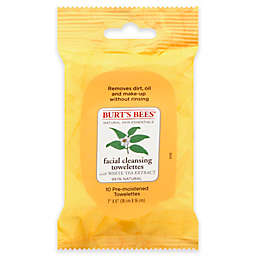 Burt's Bees® 10-Count Facial Cleansing Towelettes with White Tea Extract