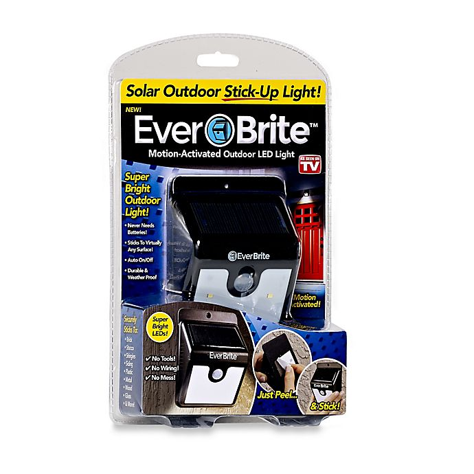 Alternate image 1 for EverBrite™ Motion-Activated Outdoor LED Light