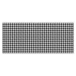 Weather Guard™ Houndstooth Kitchen Runner