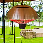 EnerG+™ HEA-21538 Hanging Electric Infrared Outdoor Heater in Silver