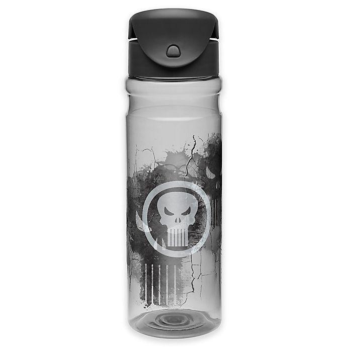 Alternate image 1 for Marvel® Punisher 26 oz. Vista Tritan Flip Lid Water Bottle