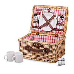 Picnic Time Catalina Basket In Plaid