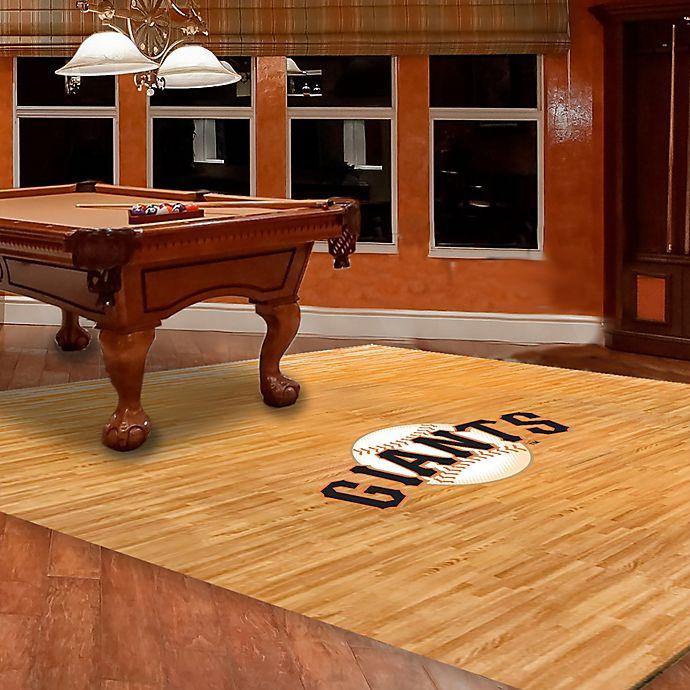 Alternate image 1 for MLB San Francisco Giants Foam Fan Floor