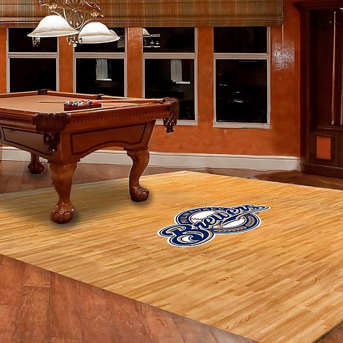 Alternate image 1 for MLB Milwaukee Brewers Foam Fan Floor