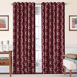 Eclipse Correll  Rod Pocket/Back Tab Room-Darkening Window Curtain Panel