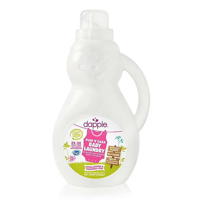 dapple® 50 oz  Pure 'N' Clean Baby Laundry Detergent in Fragrance-Free