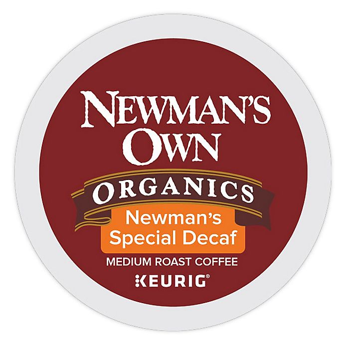 Alternate image 1 for Keurig® K-Cup® Pack 18-Count Newman's Own® Organics Newman's Special Decaf Coffee